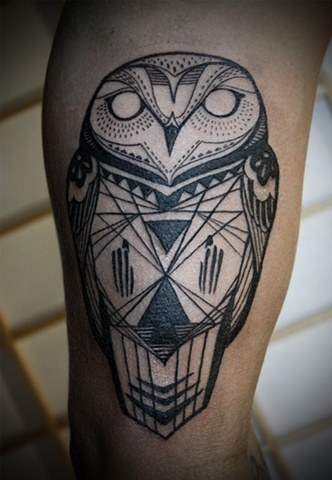 David Hale #tattoo #ink #owl