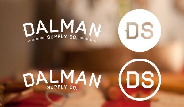 Dalman Supply branding. #type #dalman #branding #logo