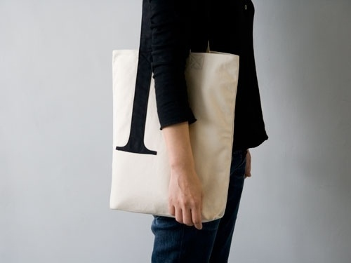 Serif Tote Bag | Little Factory #tote #serif #little #bag #factory #typography