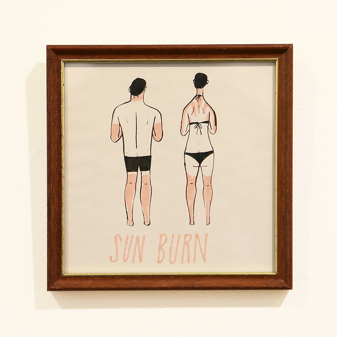 see outer space : Photo #sun #burn #illustration #back #skin