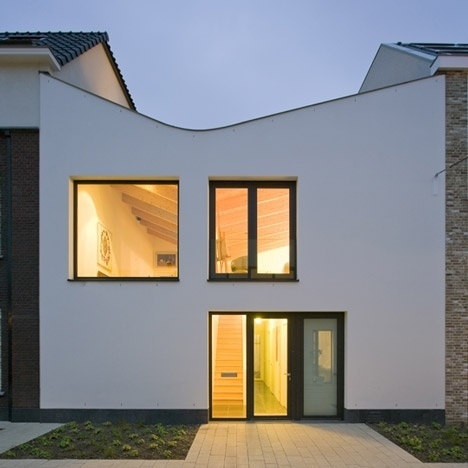 Dezeen » Blog Archive » V-House by GAAGA #houses #architecture #facades
