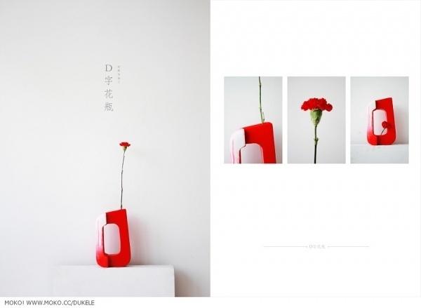 杜可乐FaOW's MOKO 个人网站 | 展示 《vaseD》产品手册 #product #vased #graphic