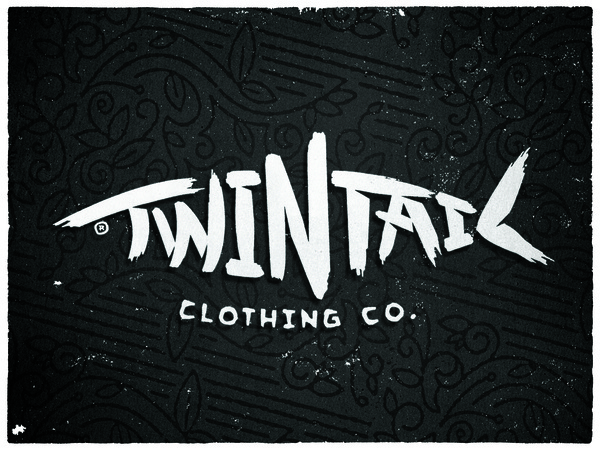 Twintail_clothing_co #logo #clothing #co #branding