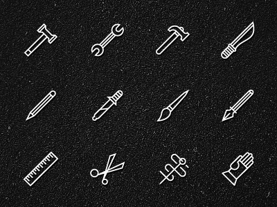 tools-icons.jpg 400×300 pixels #illustration #icons