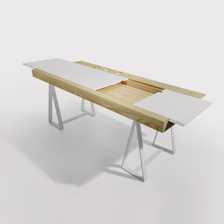 Gravity office table #interior #office #design #table