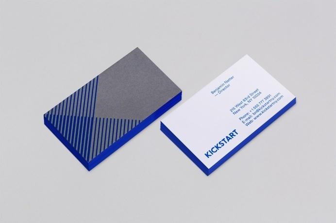 Kickstart Media Group - Mash Creative #stamp #business #card #print #foil