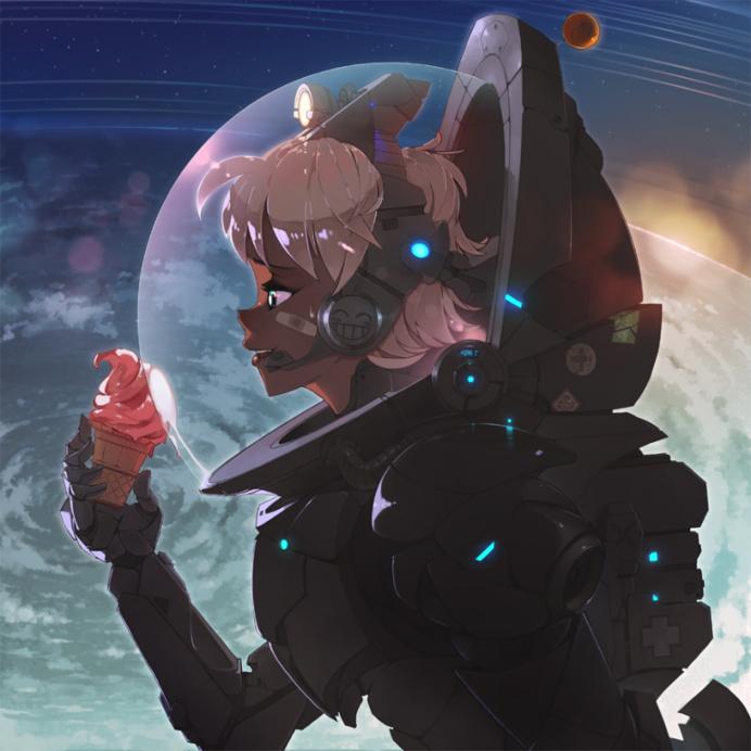 interstellar ice cream by rtil