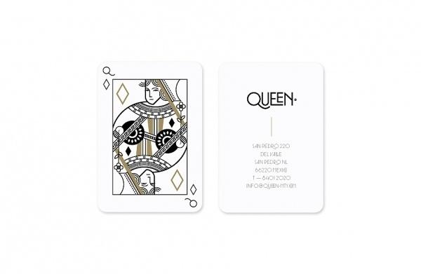 Face. Works. / Queen. #logo #print #branding #typography