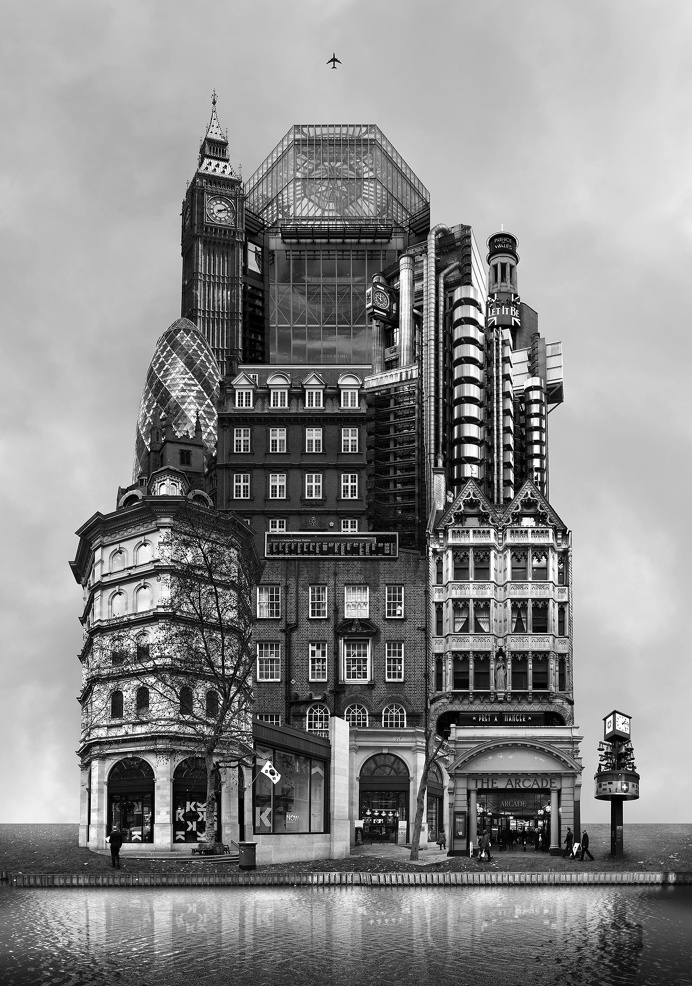 Beomsik Won, Archisculpture 013, 2012. Archival pigment print, 100x70 or 171x120cm.