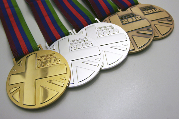 Medal Designs: The Skills Show 2012 #competition #silver #bronze #gold #award #medal
