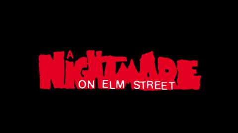 Nightmare on Elm Street 1984 movie poster lettering #title #movie #horror #typography