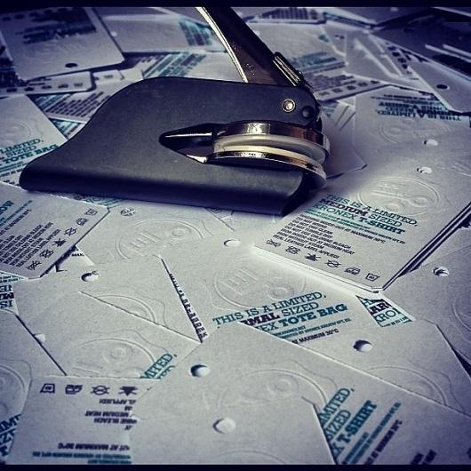 Instagram #stamp #embossed #print #label #embosser #kronex #paper