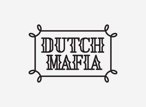 mkn design - Michael Nÿkamp #logo #mafia #dutch #gray