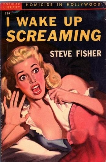 Celebration Of Vintage and Retro Design | Smashing Magazine #hollywood #screaming #cover #blonde #vintage