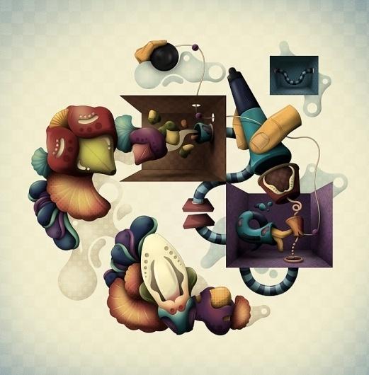 Leandro Lima • Portfolio 2010 #lima #illustration #design #leandro