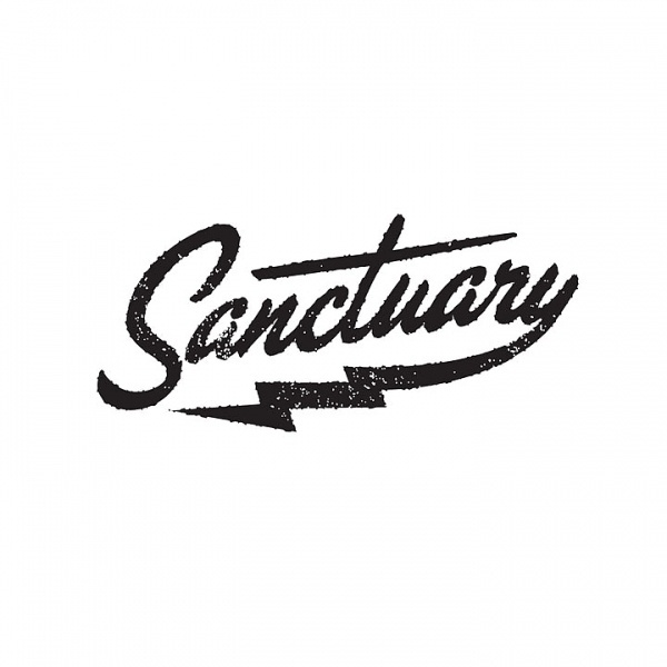 Factory Kids #script #hipster #logo #texas #austin #lightning #sanctuary #type #typography