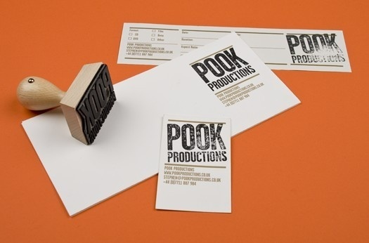 Pook Productions image #stamp #print #identity