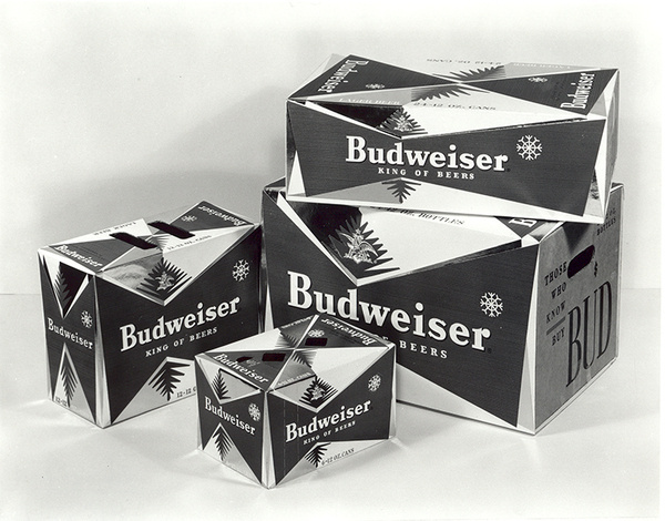 Is Budweiser's Bow Tie Can The Coca Cola Of Beers? | Co.Design: business + innovation + design #packaging #beer #vintage #box