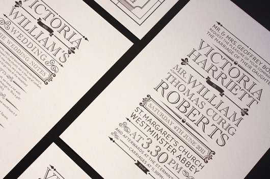 Design by Made #print #invitation #typography