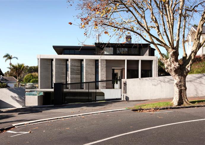 Contemporary Concrete House in Herne Bay - #architecture, #house, #home, #decor, #interior, #homedecor