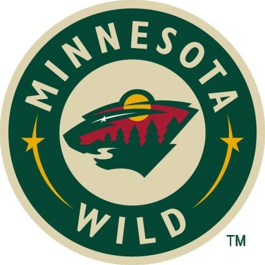 Minnesota Wild Logo - Chris Creamer's Sports Logos Page - SportsLogos.Net #wild #red #yellow #minnesota #sports #star #moon #logo #river #trees #green