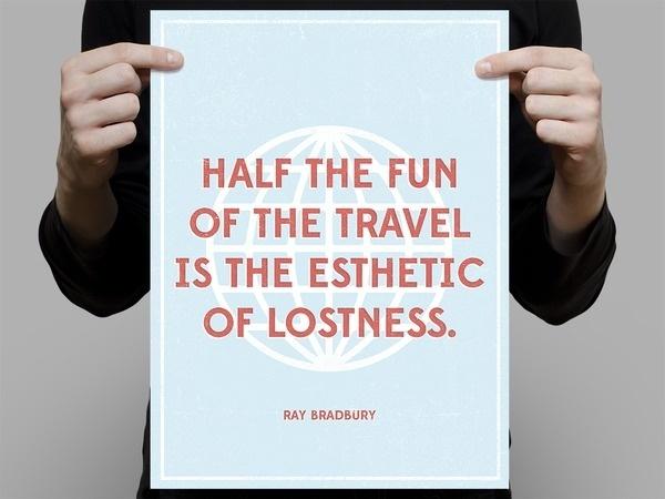 Bradbury_travel_med #quote #travel