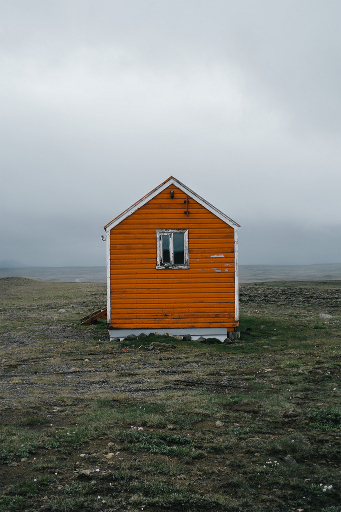 Iceland Road Trip Rescue hut in Arnarbæli, Iceland #photography #iceland