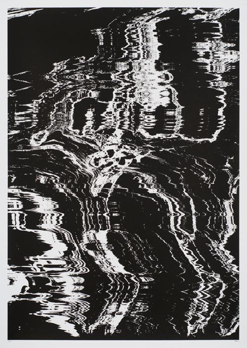 Destructoblast Damien Tran #abstract #black #white #pattern