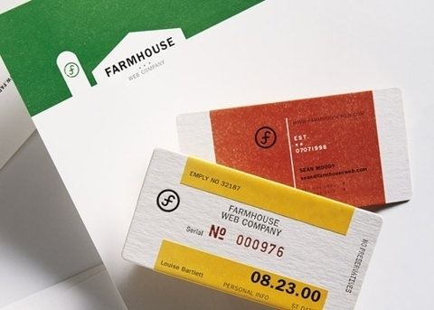 FFFFOUND! | Farmhouse : Lovely Stationery . Curating the very best of stationery design #industrial #identity