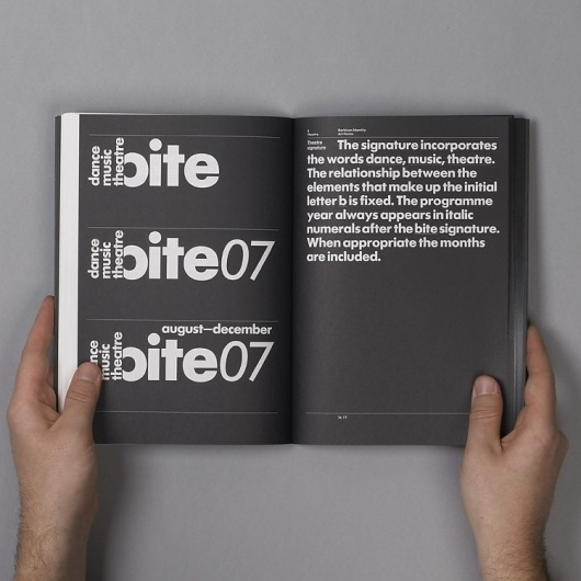 SI Classics: North × Barbican | September Industry #branding #guide #guidelines #corporate #style
