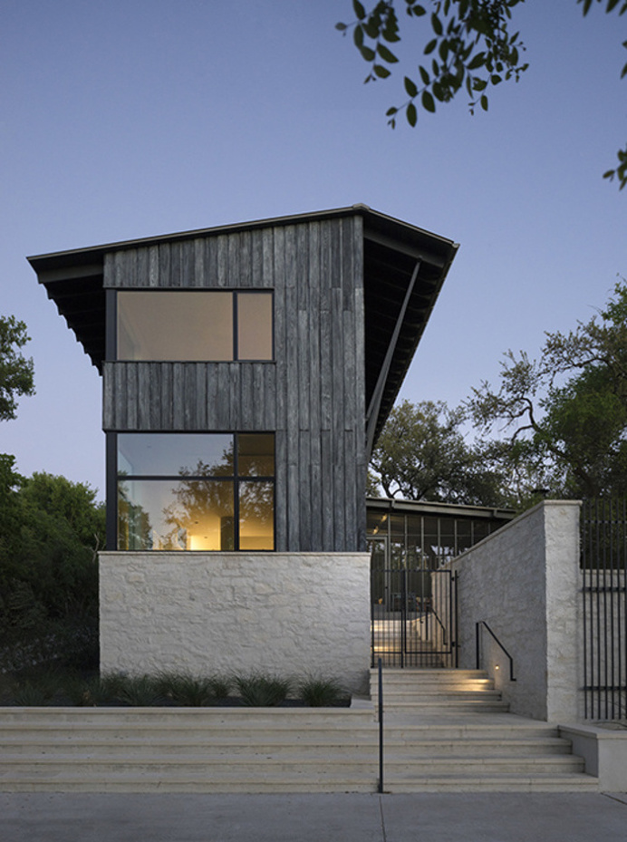 Hillside House by Tim Cuppett Architects