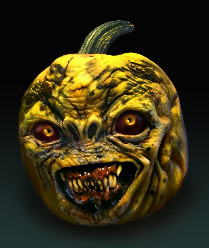The Scariest Pumpkin Carvings Ever #carvings #pumpkin