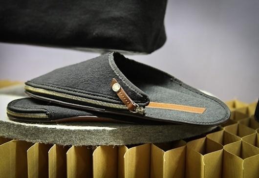 WANT Les Essentiels de la Vie Travel Slippers & Bracelets Autumn/Winter 2012 want-les-essentiels-fall-2012-3 – Selectism.com #mens
