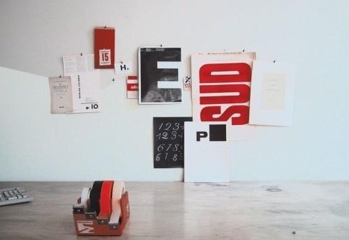 AMASSBLOG #desk #typography