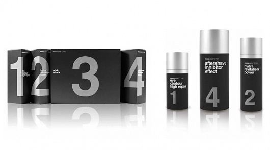 selected-h-01.jpg 720×400 pixels #white #packaging #silver #black #typographic #numeral