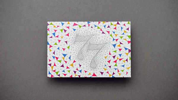 we love, we create #szymanska #color #triangles #postcard #klaudia