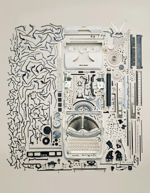 old typewriter #machine #process #print #dissect #typewriter