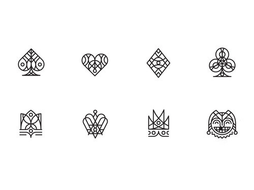 Tumblr #crown #cards #logos #icons