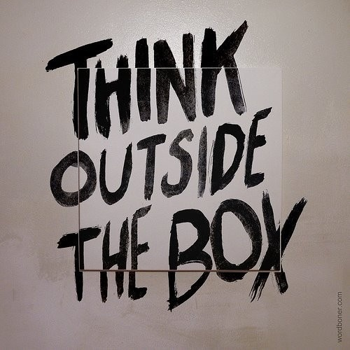 Inspiration / Think outside the box #outside #think #box #the