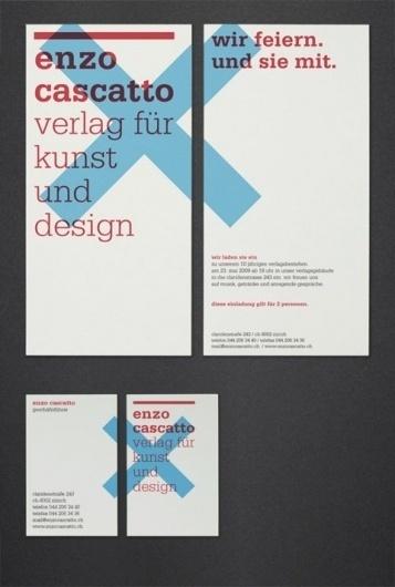 Enzo Cascatto, Verlag für Kunst und Design — Pixelot, das Paulfolio #print #layout #poster