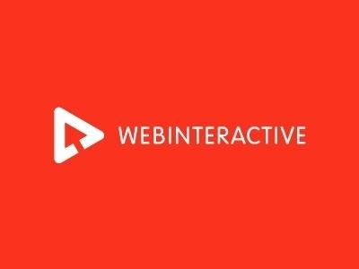 Dribbble - Webinteractive logo by Jan Zabransky #triangle #red