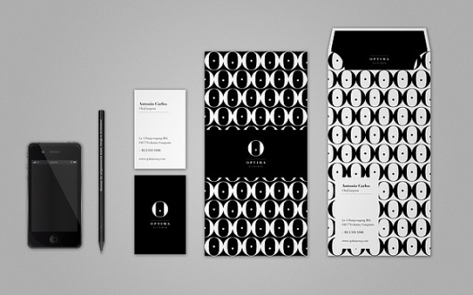 Optima Clinique Visual Identity on the Behance Network #visual #pattern #rmit #brand #melbourne #identity #minimal #elegant #minimalist