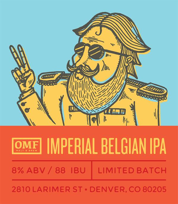 Imperial belgian ipa #beer #label