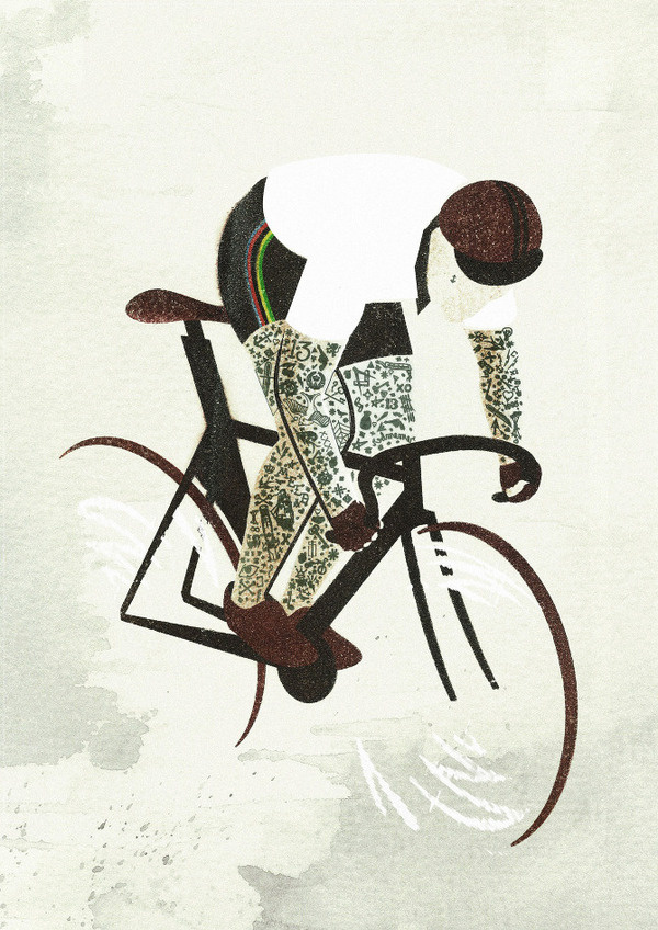 UCI 2012 #fixed #gear #track #bike #tattoos #poster #cycling