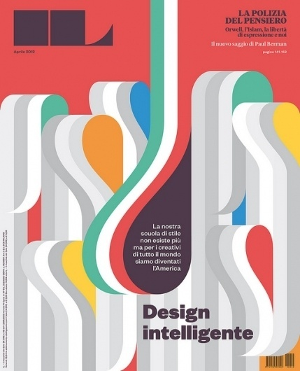 IL 40 — Design Intelligente | Flickr - Photo Sharing! #design #graphic #color #cover #type #editorial #magazine
