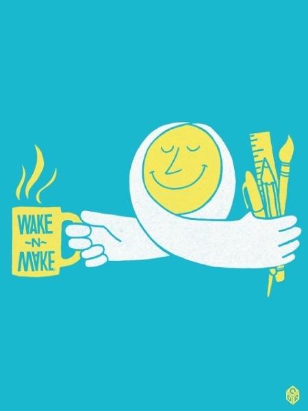 wake n make #wake #cdryan #make