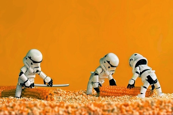 Star Wars Toys by Zahir Batin #inspration #photography #art