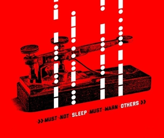 Illustrations - Beggars & Thieves #red #texture #illustration #poster #typography