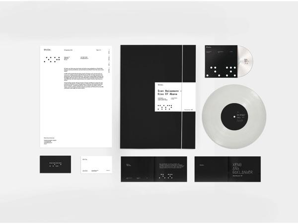 Stille on Behance #font #lettering #white #branding #techno #stille #balck #minimalism #logo #simple #grid #typographic #sound #identity #dj #music #type #club