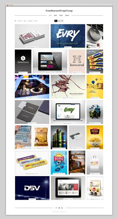 Scandinavian Design Group #design #website #grid #layout #web